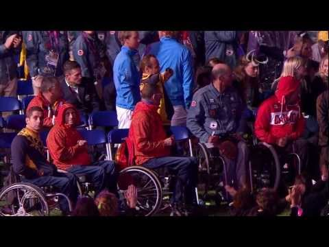 Coldplay - The Scientist - 15/16 - Live @ Paralympic Games Closing Ceremony 2012