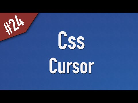 [ Css In Arabic ] #24 – Cursor [ Css 2 ]