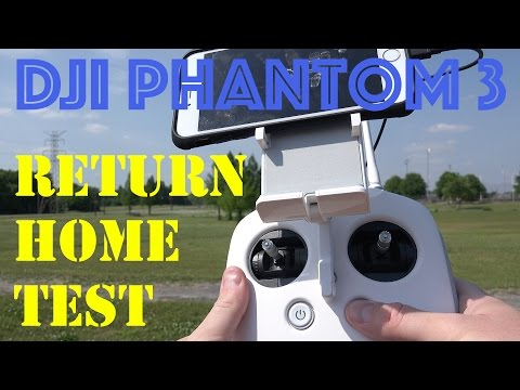 DJI Phantom 3 Return Home Demonstration in 4K UltraHD