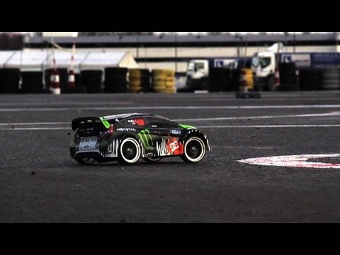Gymkhana RC 2012 Ken Block Fiesta - Traxxas - trailer