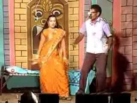Tamil village dance new   Tamil hot stage dance