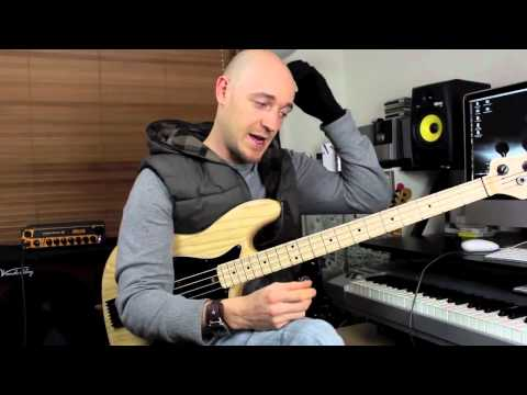 Using Pentatonic Scales #3 - Bass Lesson with Scott Devine
