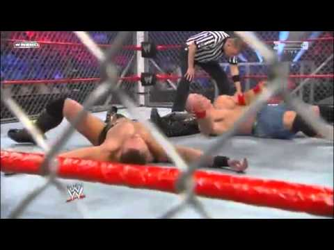 WWE Classic Clips - Starship Pain off the top of the Steel Cage