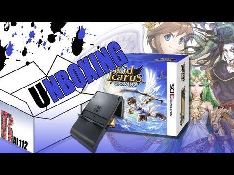 Unboxing KID ICARUS UPRISING   Gameplay RA - Realtà Aumentata ITA
