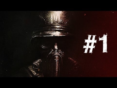 Metro Last Light Gameplay Walkthrough Part 1 - Intro - Chapter 1