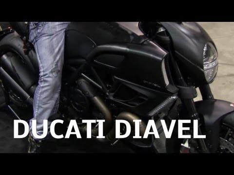 2013 DUCATI DIAVEL Sport Cruiser Italian Motorcycle