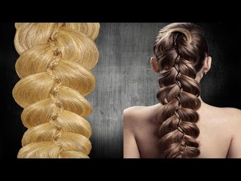 Moderna Trenza de 5 |   5-Strand Slide-Up Braid | Коса из 5-ти |TRENZA INVIERNO