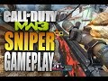 nine lives - sniper ffa gameplay on seatown - modern warfare 3 multiplayer gameplay (mw3)