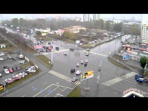 Авария в Челябинске 13 10 2014