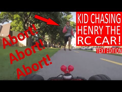 HENRY THE FPV RC CAR gets attacked by crazy kids! (Filmed with Gopro)
