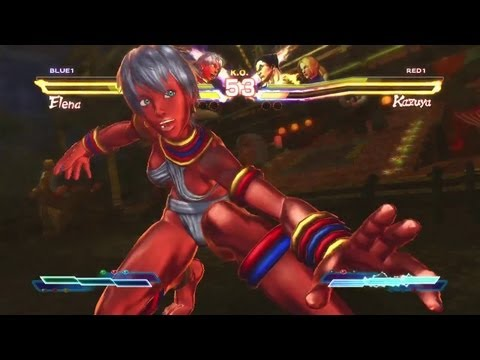 Street Fighter X Tekken 'PS Vita Captivate 2K12 Trailer' TRUE-HD QUALITY