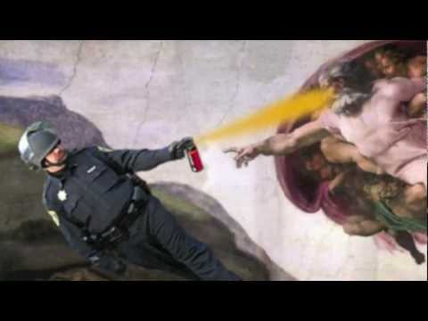 John Pike - The UC Davis Casual Pepper Spray Everything Cop!