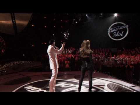 American Idol - Elvis & Celine - If I Can Dream (HD!)