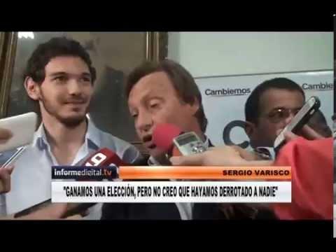 <b>Elecciones.</b> Sergio Varisco celebr� su triunfo en Paran�