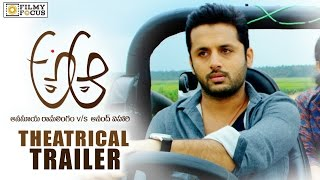 A Aa Movie Theatrical Trailer || Nithin, Samantha || Trivikram