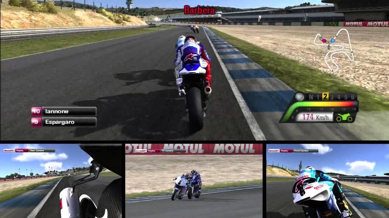 MotoGP 13 First Race - PS3 Gameplay
