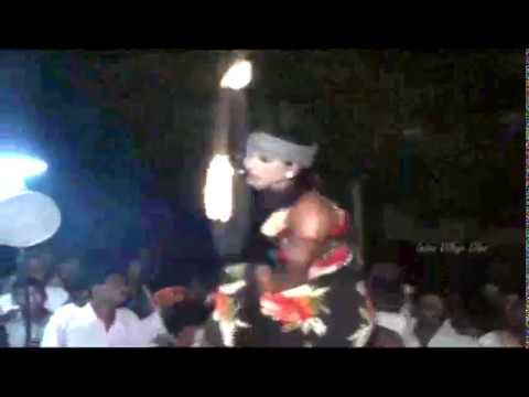 Andhra Anakapalli Young Girl Romantic Stage Recording Dance.1/4