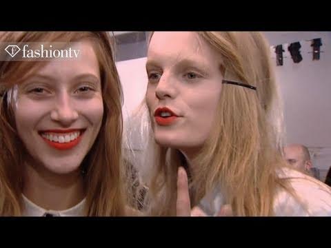 First Face - #5 Model Alana Zimmer - Fall 2011 First Face Countdown | FashionTV - FTV.com
