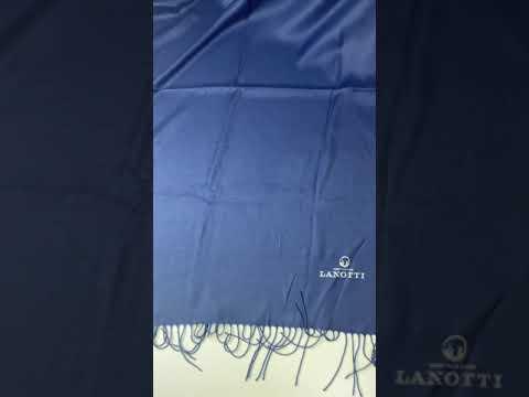 Палантин Pashmina женский Lanotti/Классически-синий