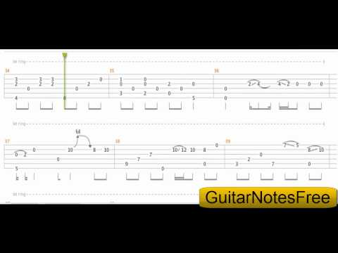 Wonderful Tonight - Sungha Jung Guitar Tab HD