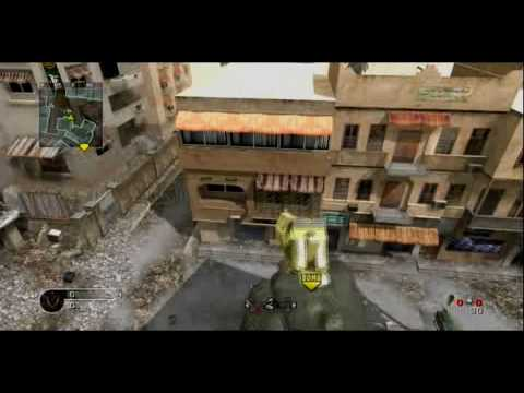CoD4: Crossfire Car Bounce With LMG!