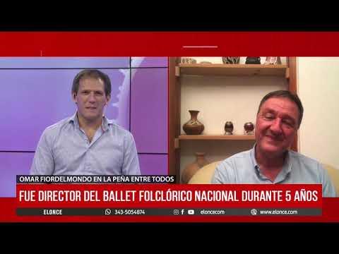 Omar Fiordelmondo, fundador del Instituto El Cimarron en Elonce TV