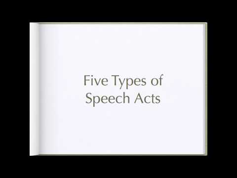 Searle's Theory of Speech Acts