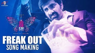 Freak Out Song - Making  | Disco Raja