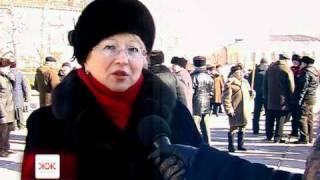 Близько сотні чорнобильців влаштували в Житомирі мітинг
