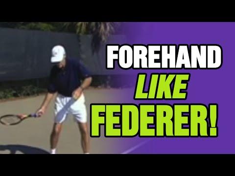 Forehand Groundstroke Lesson Tennis Forehand Lesson