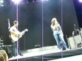 Nick Jonas &amp; Demi Lovato Singing Catch Me &amp; Stop The World at Souncheck in Montreal 09-04-10