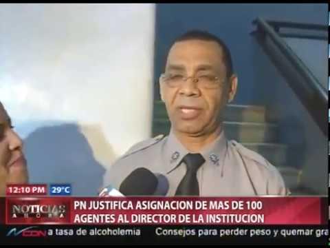 Policía dice director de institución tiene…