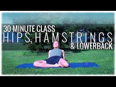 A 30-Minute Class for the Hips, Hamstrings and Lower Back with David Procyshyn