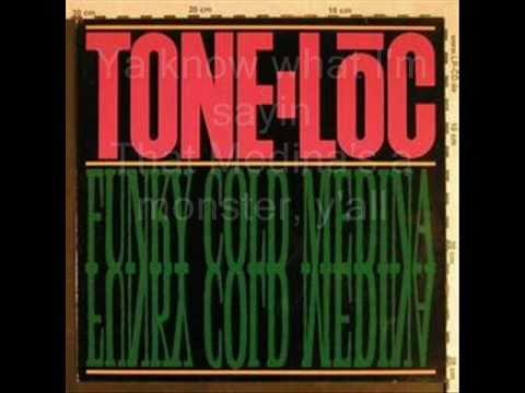Funky Cold Medina - Tone-Loc (w/ Lyrics)