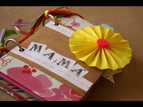 Album Scrapbook [Facil] // Dia de la madre