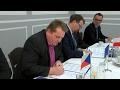 Petrovice u Karviné: Podpis smlouvy o spolupráci s partnerskou obcí Godów