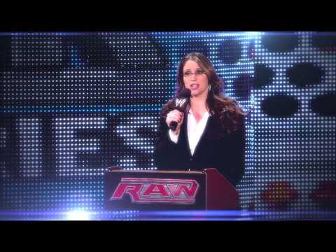 Stephanie McMahon Entrance Video