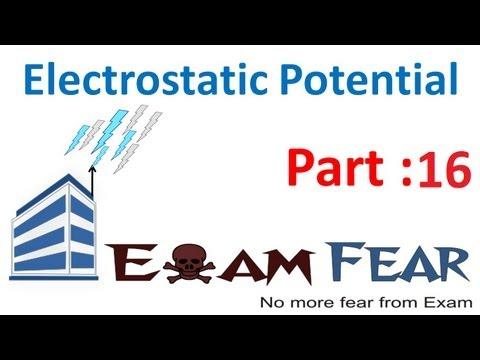 Physics Electrostatic Potential part 16 (Relation between Electric Field & potential) CBSE class 12