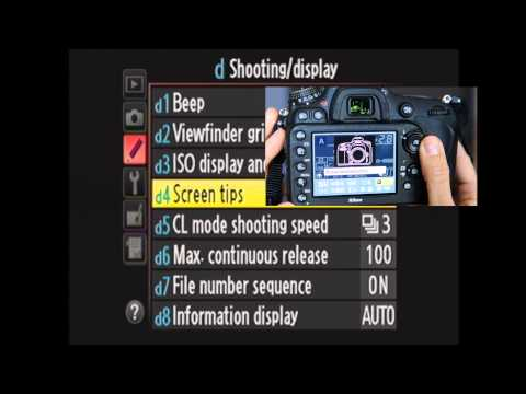 Nikon D600 Custom Settings Menu Walkthrough