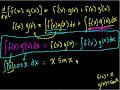 Фрагмент с конца видео - Indefinite Integration (part V)