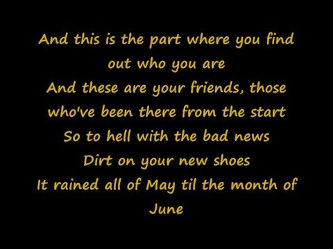 The Maine - Whoever She Is (Lyrics)