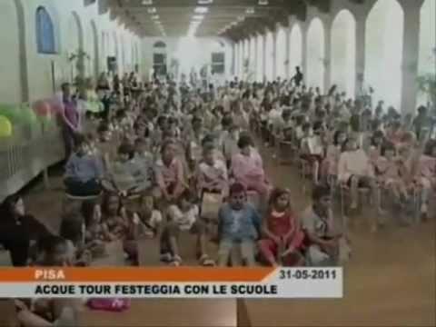 Acque Tour Party 2011 alla Stazione Leopolda di Pisa: servizio di 50 News