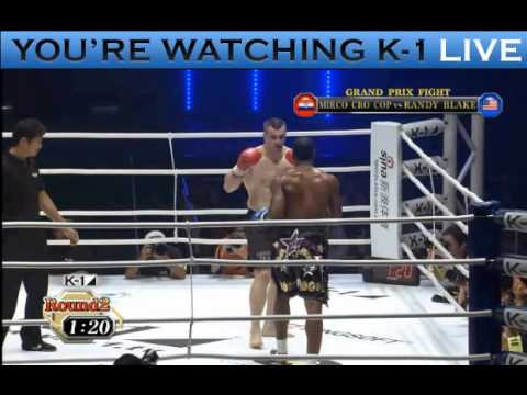 Randy Blake vs Mirko Crocop
