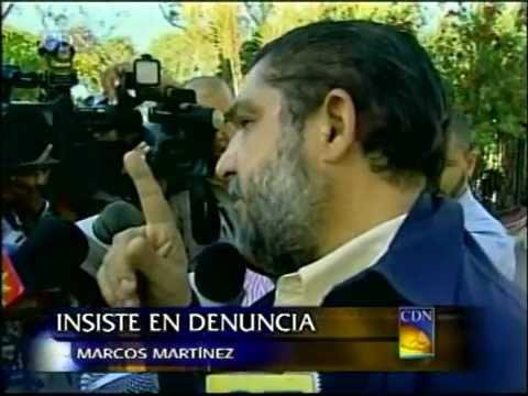 Martínez presentará mañana documentos originales que avalan su denuncia