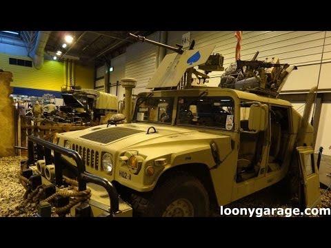 Armoured Humvee