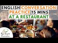 english conversation about restaurants   learn conversational english   real english conversations  