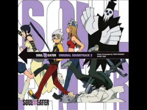 Soul Eater OST 2 - Track 1 - in his mind, DB sways his shoulders and dances.