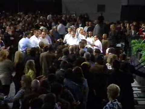 Benny Hinn - Holy Ghost FIRE Falling on Atlanta (2)