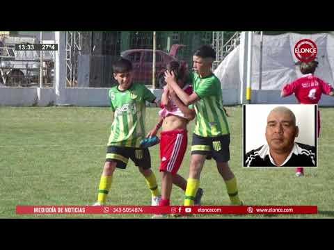 Lloraba y rivales lo consolaron: Gran gesto en el fútbol infantil de Bovril