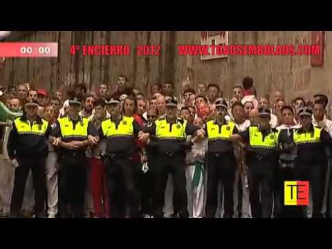 RECOPILACIÓN DE TODOS LOS ENCIERROS DE SAN FERMIN 2012 360p
